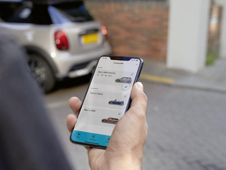 MINI Sharing – MINI Sharing app – MINI Electric