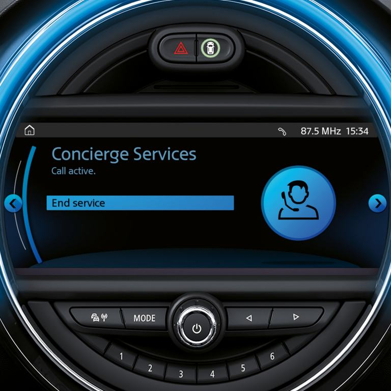 mini connected - concierge services