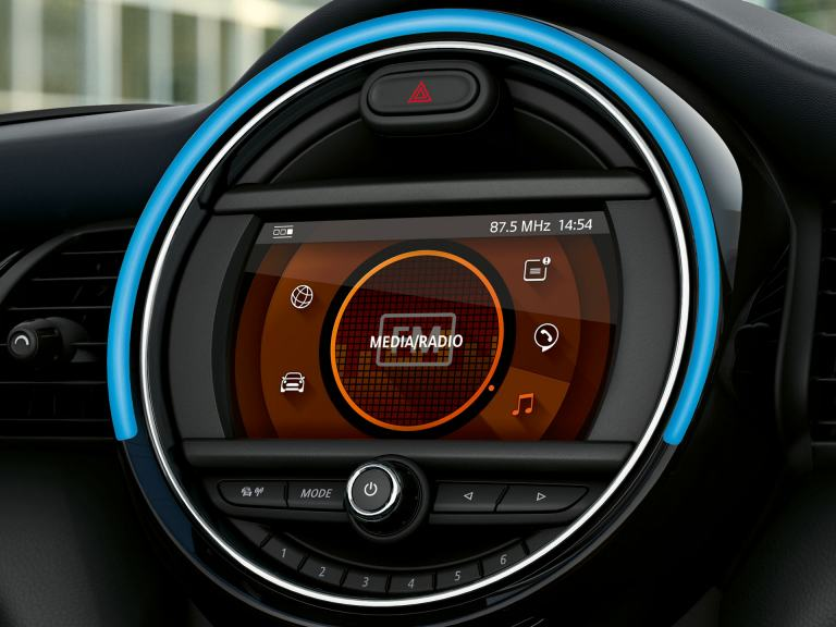 mini connected - packages - standard radio and display